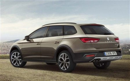SEAT Leon X-PERIENCE gets the rugged treatment