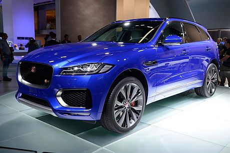 New Jaguar F-Pace SUV gives its rivals the wobbles