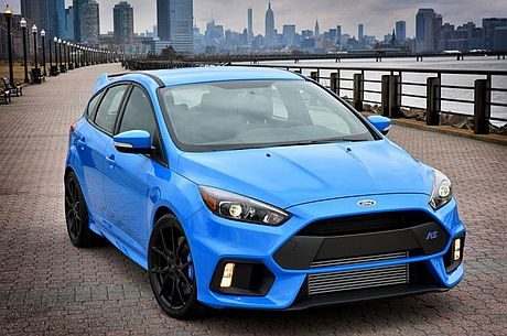 Anticipation mounts for the new Ford Focus RS