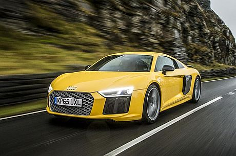 The New Audi R8 Plus: functionality and fun in equal measure