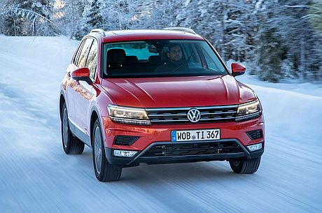 First impressions of the second-generation VW Tiguan